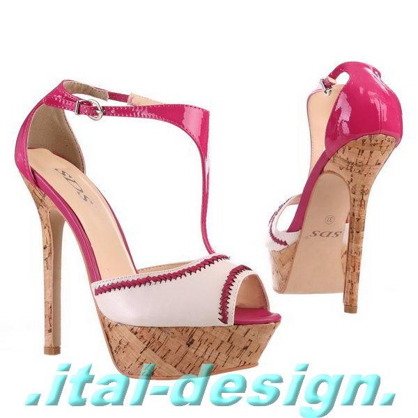 designer damen schuhe pumps high heels plateau mit riemen. Black Bedroom Furniture Sets. Home Design Ideas