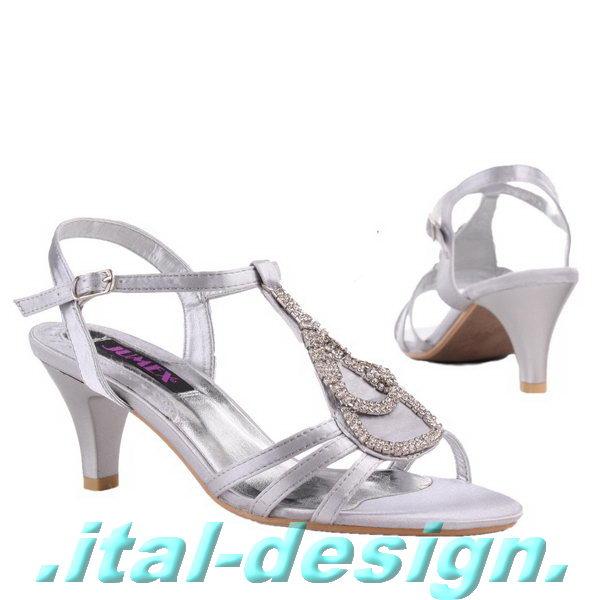 luxus neu designer damen schuhe pumps sandaletten i90a silber ebay. Black Bedroom Furniture Sets. Home Design Ideas