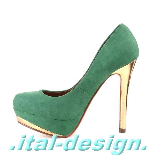 neu designer damen schuhe pumps plateau high heels. Black Bedroom Furniture Sets. Home Design Ideas