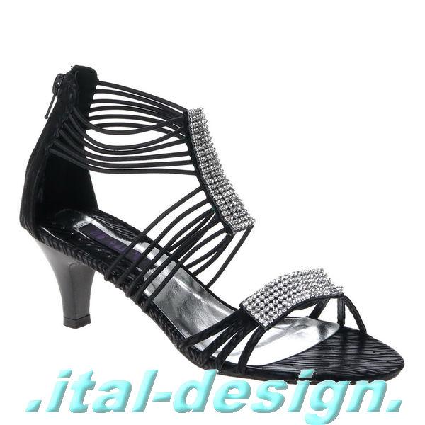 neu designer damen schuhe sandaletten pumps mit. Black Bedroom Furniture Sets. Home Design Ideas