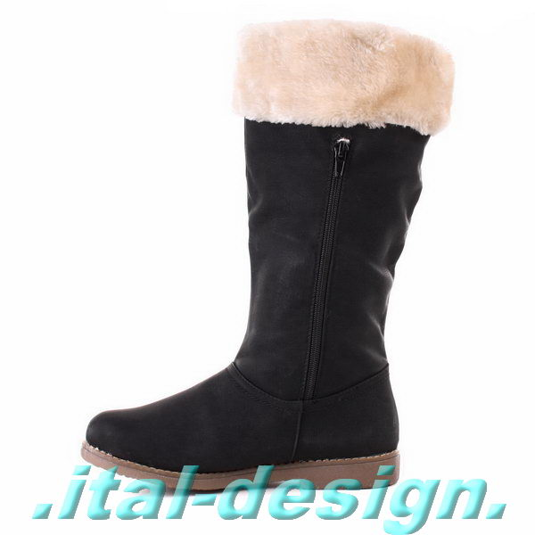 luxus neu designer damen schuhe stiefel mit bommel warm. Black Bedroom Furniture Sets. Home Design Ideas
